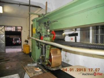 Sole leather rolling machines - Zanelli - Rollerpress