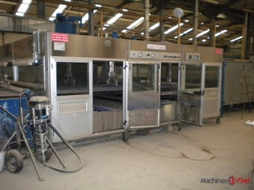 Spraying lines - Carlessi - double cabin
