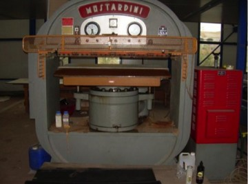 Presses, ironing & embossing - Mostardini - MP3MS