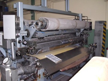 Roller Coating Machines - KELA - Leprinta Kombo-S