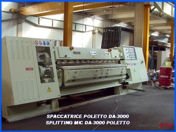 Splitting Machines - Poletto - DA 3000
