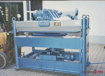 Sole leather rolling machines - Turner - Croupon-Rollpress 446