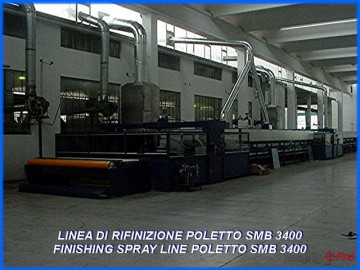 Spraying lines - Poletto - SMB 3400