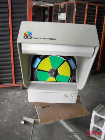 Colour matching systems - ACS - Visual color system
