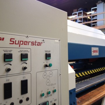 Ironing & Embossing Through-Feed - Bergi - Superstar 31