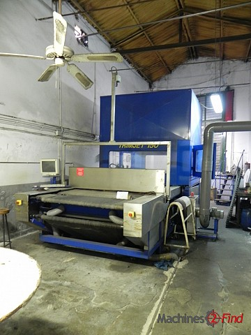 Trimming & cutting systems - Mercier-Turner - Trinjet 150
