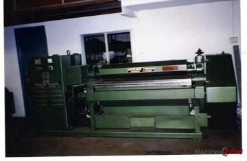 Rotary Staking Machine (reverse) - Mercier-Frères - Lunetteuse DH-2
