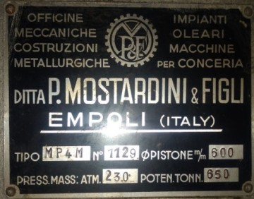 Presses, ironing & embossing - Mostardini - MP4M