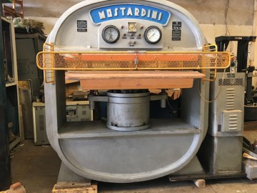 Presses, ironing & embossing - Mostardini - MP2MR