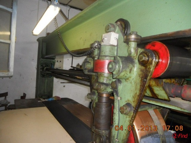 Sole leather rolling machines & Rollpress - Zanelli - Rollerpress