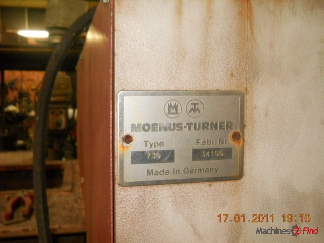 Shaving Machines (reverse) - Moenus-Turner - 730