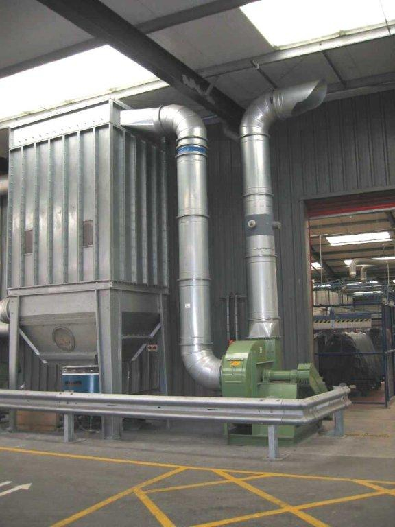 Dust filters - Bergi - FE Dust collector