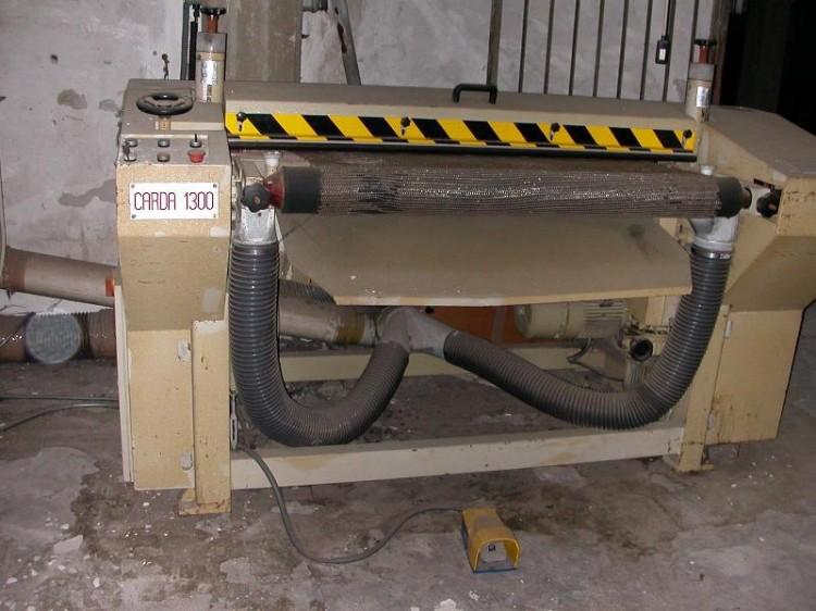 Carding machines - Ficini - Carda 1300