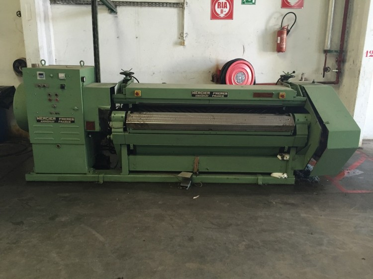 Rotary Ironing Machines - Mercier-Frères - FINIFLEX H2