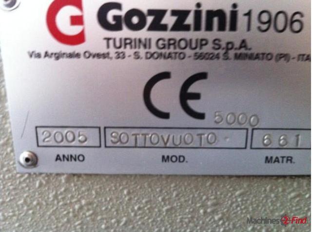 Vacuum driers - Gozzini - Duplomatic SOTTOVUTO