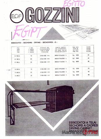 Toggling driers - Gozzini - E200A
