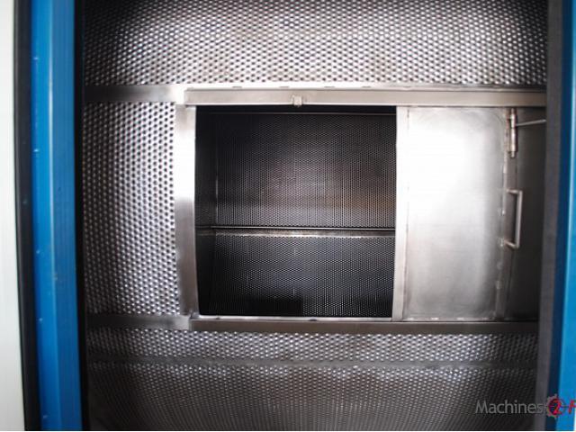Milling - Ermaksan - Vacuuming Dry Milling Drum
