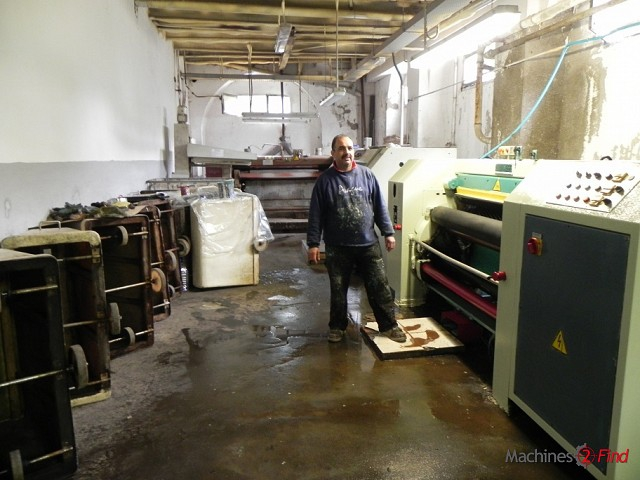 Sammying & Setting-out machines - CM - RALP