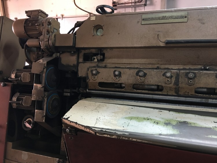 Splitting Machines - Moenus-Turner - Novosplit 734