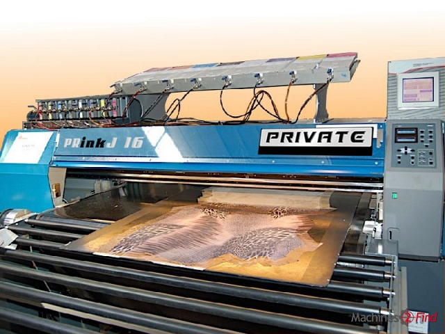 Dyeing machines (Through-feed) - Mimaki - PRinkJ16 (JV5 Mod)