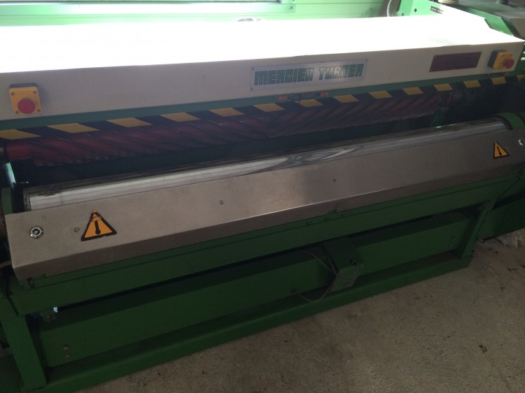 Rotary ironing machines - Mercier-Turner - Finiflex