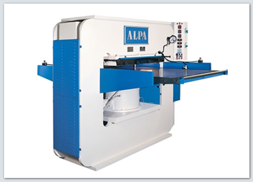 Presses, ironing & embossing - Alpa - ADP