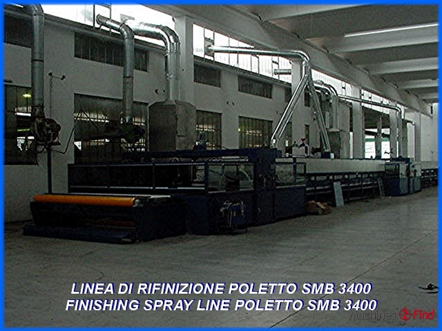Spraying machines - Poletto - SMB 3400