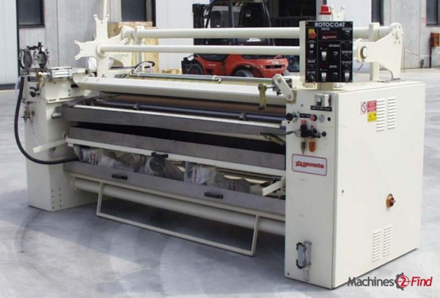 Roller coating machines - Gemata - New Rotocoat 2200