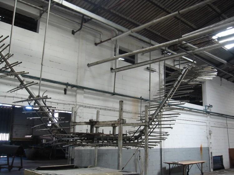 Chain conveyors - Italprogetti - Overhead conveyor