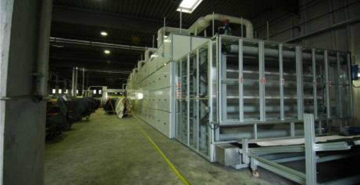 Drying tunnels - Cartigliano - Taic