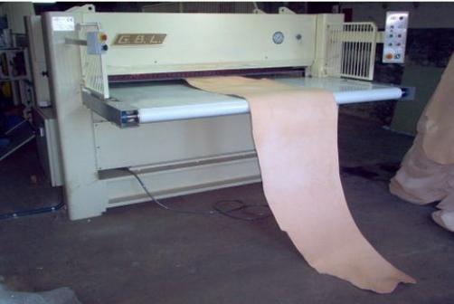Sole leather rolling machines & Rollpress - G.B.L. - SA 2000 (semi-automatic)