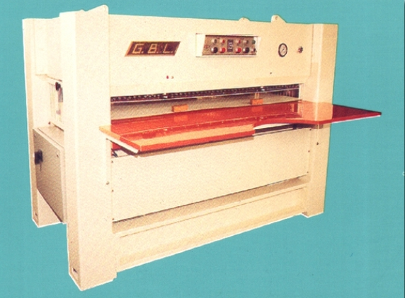 Rollpress (for sole/shoulder leather) - G.B.L. - SA 2000 (semi-automatic)