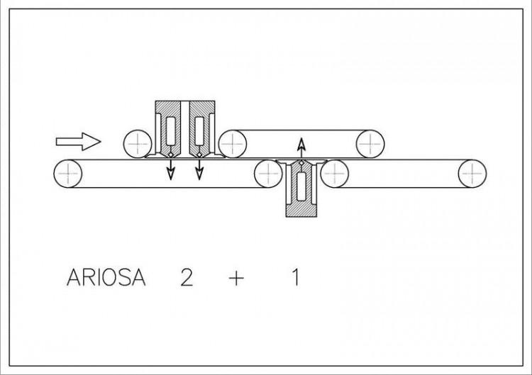 Dedusting machines - Bergi - Ariosa 2+1