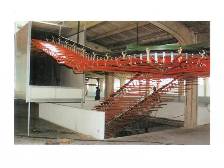 Chain conveyors - Tas Makina - Air Chain Conveyor