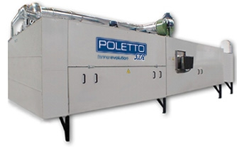 Drying tunnels - Poletto - Fast-M
