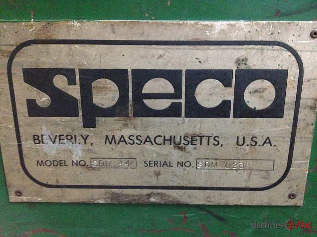 Dedusting machines - Speco - Dedusting