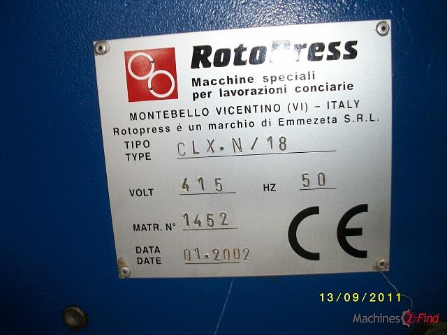 Embossing - Rotopress - CLX - N