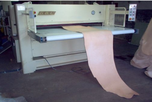 Sole leather rolling machines & Rollpress - G.B.L. - 2000 (manuel)