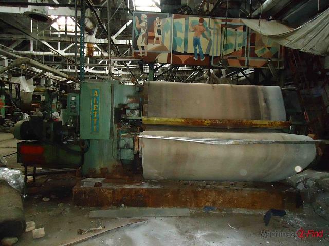 Sammying & Setting-out machines - Aletti - Polypress PM/2