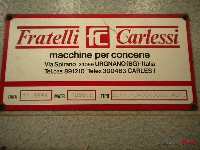Toggling driers - Carlessi - EGX 75