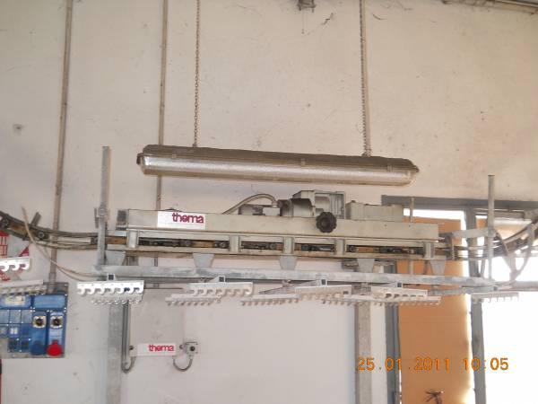 Chain conveyors - Thema - Overhead conveyor