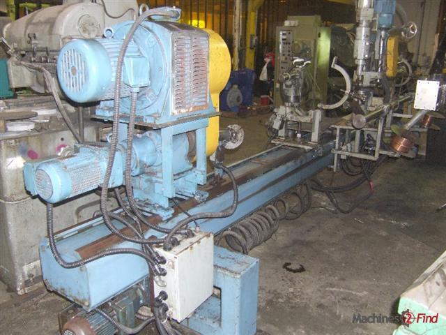 Reblading & Balancing machines - Escomar - EMAG-RE
