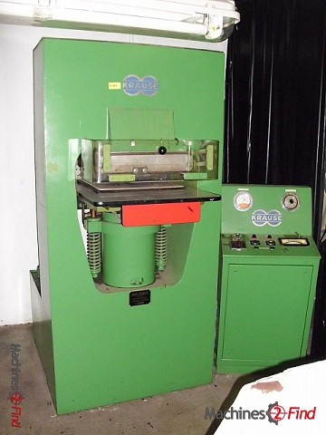 Presses, ironing & embossing - Krause - 500 T