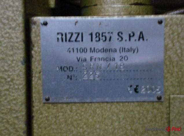 Splitting Machines - Rizzi - SRN