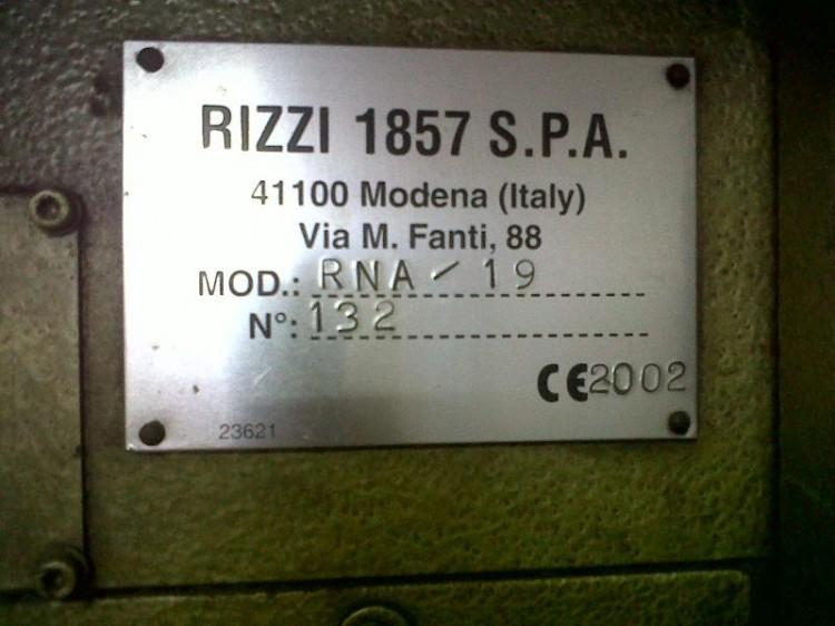 Shaving machines - Rizzi - RNA/19