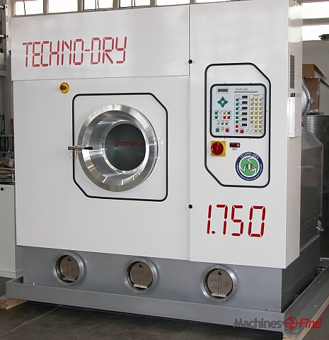 Degreasing / Washing machines - TECHNO-DRY - INDUSTRIAL DRY CLEANING