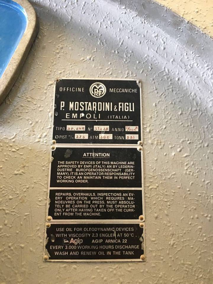 Presses, Ironing & Embossing - Mostardini - MP2MR