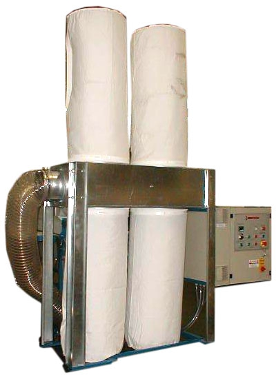 Dust filters - Bergi - CF Dust collector
