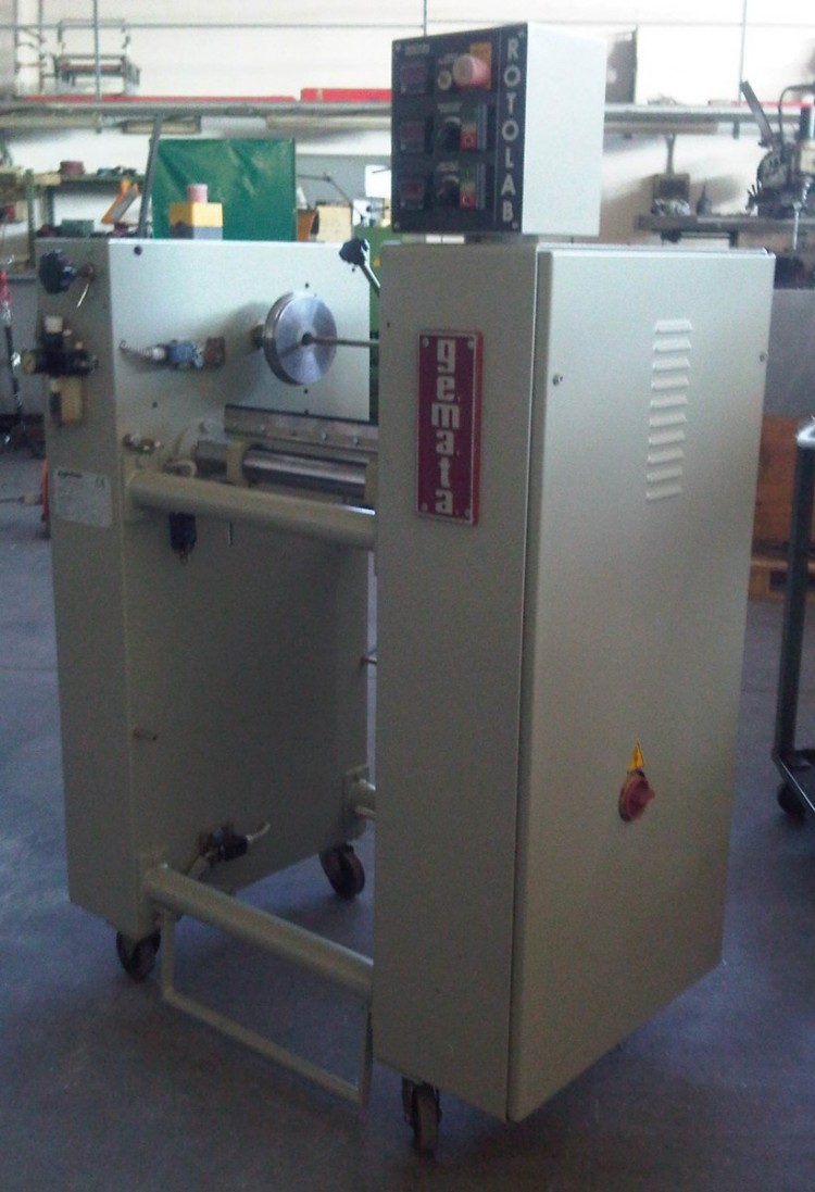 Roller Coating Machines - Gemata - Rotolab 400