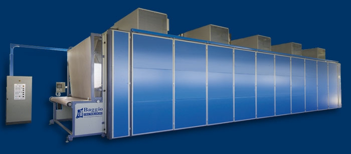 Vacuum Driers / Cooling Towers / Loaders - Baggio - Tunnel Fast Dry